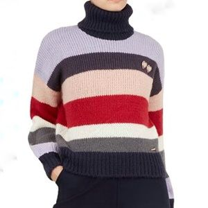 Ted Baker Color By Numbers sweater, mohair blend